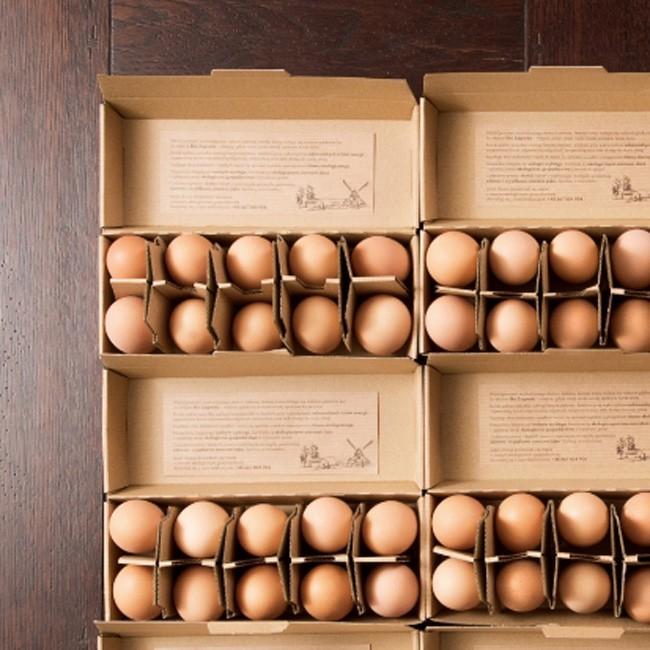 Opakowania jajek